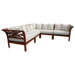 Transitional Outdoor Sofas by Chic Teak