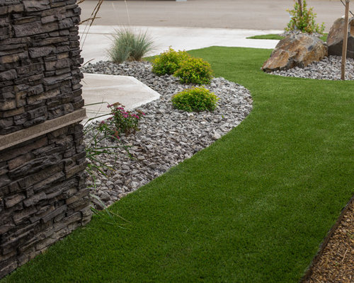 Garden Ideas Edmonton edmonton landscaping with mulch ideas & design photos | houzz