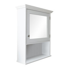 Traditional Mirrored Bathroom Cabinet