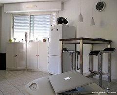 kleine k che alternativen zum wandklapptisch. Black Bedroom Furniture Sets. Home Design Ideas