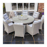 Astor 8 Seat Round Dining Set