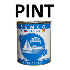 Semco Teak Wood Sealant Protector Sealer Waterproofing, PINT, Natural