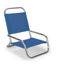 Sun and Sand Folding Arm Chair, Various, Cobalt