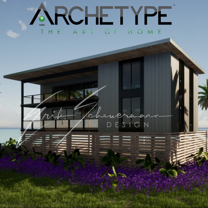 Inspiration for a modern exterior home remodel in Miami
