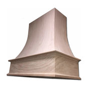 EPICUREAN CHIMNEY HOOD, Maple, 42""
