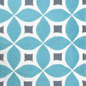 Hand-Tufted Gabriela Area Rug, Baby Blue, 5'x8'
