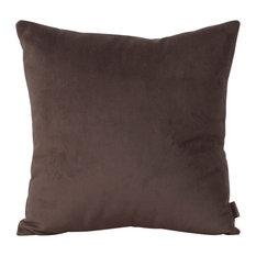 "Bella Chocolate 20""x20"" Pillow"