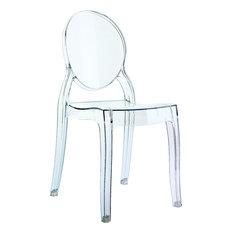 Compamia   Elizabeth Kidu0027s Chair, Clear   Kids Chairs