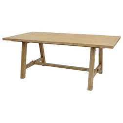 Transitional Dining Tables by New Pacific Direct Inc.