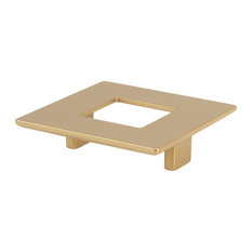 Topex Square Pull With Hole 64mm CTC Matte Brass