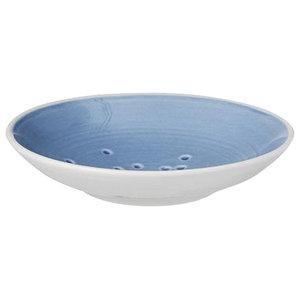 Anne Black Kyst Mini Hand Thrown Plate, Sky Blue, Small
