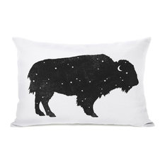 """""""Mystic Buffalo"""" Indoor Throw Pillow by Terry Fan, 14""""x20"""""""