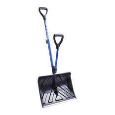 """Snow Joe Shovelution 18"""" Strain-Reducing Snow Shovel With Spring Assisted Handle"""