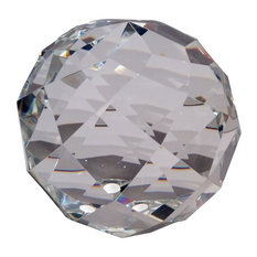 """Faceted Crystal Ball, 5"""""""