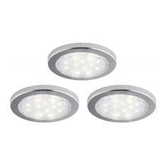 Under-Cabinet LED Pucks, 3-Pack