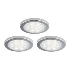 Bazz   Under Cabinet LED Pucks, 3 Pack   Undercabinet Lighting