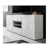 Dama (white) 2 door 2 drawer sideboard