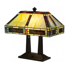 "Meyda Tiffany 184702 20""H Chaves Oblong Table Lamp"