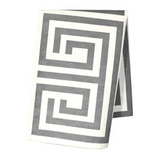 Santorini Ash Grey 2-Piece Kitchen Towel Set