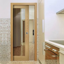 Kitchen Pocket Doors