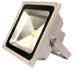 LEDQuant - 50W LED Flood Light, Cool White - 50 Watt Outdoor LED Flood Light, High Power, Cool White, Energy Efficient. Reduced energy consumption by up to 80%. 2 year guarantee.