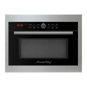 "Master Chef, 5 Ovens in 1, 24"" Built in Convection Micro Oven,Stainless Trim Kit"