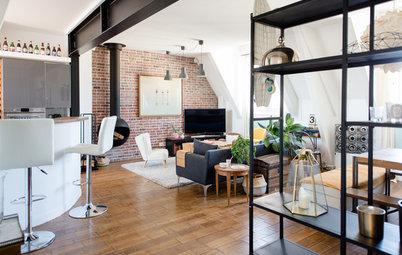 Suivez le Guide : Style indus' convivial pour duplex nantais
