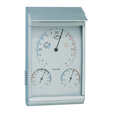 Android Barometer Weather Station, Aluminum Silver