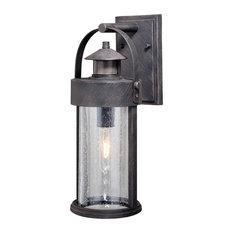 Cumberland Iron Motion Sensor Dusk to Dawn Outdoor Wall Light