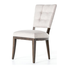 Sabina Dining Chair Axis Stone Burnt Birch