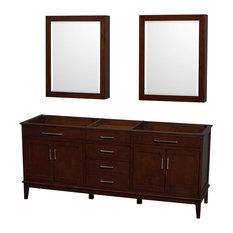 78.5 in. Eco-Friendly Bathroom Vanity with Medicine Cabinets