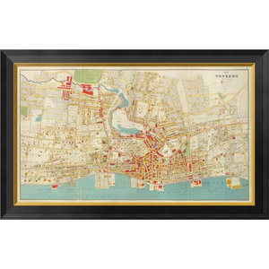 Map Usa Time Zones 18 Poster Contemporary Prints And Posters By Trends International