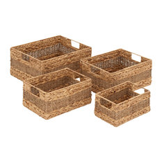 Brimfield & May - Venice Seagrass Baskets, Set of 4 - Baskets