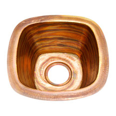 Square Bar Copper Sink Undermount Or Drop In