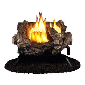 24 Ventless Ambient Gas Log Set Liquid Propane 34 000 Btu