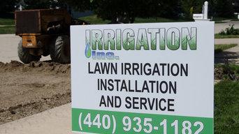Avon Lake, Oh lawn sprinkler system installation