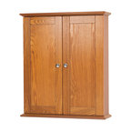 "Worthington 21"" Oak Wall Cabinet"