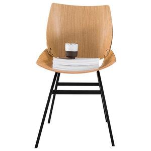 Shell Dining Chair, Oak