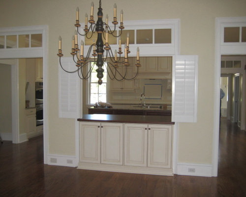 Kitchen Pass Thru Shutters In Tallahassee Florida   Products