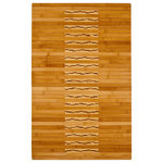 """Anji Mountain - Bamboo Kitchen and Bath Mat 20""""x32"""" - Bamboo mats have been a traditional floor covering in the Far East for centuries. They add a touch of organic, practical elegance to any space.  Our Bamboo Kitchen & Bath Mat is made of the finest quality, sustainably harvested bamboo in the world for supreme durability.  It's intricate design and glossy finish make it an especially appealing option to use in front of a bathroom or kitchen sink."""