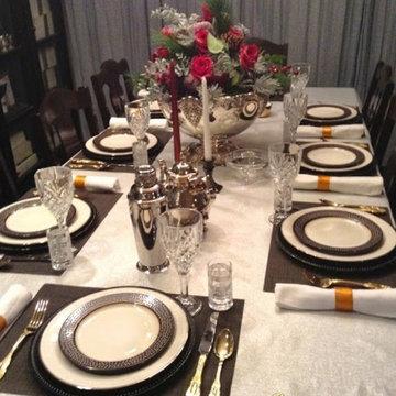 A Ralph Lauren Inspired Christmas Tablescape