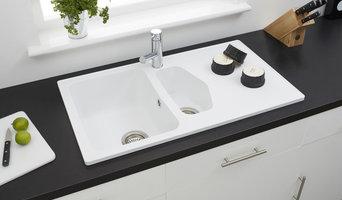Dart 1.5B Opal White ROK® Granite Sink