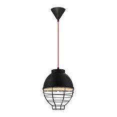 Brampton, 1-Light Pendant, Black