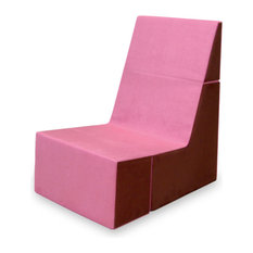 Cubit Chair, Pink/Burgundy   Armchairs And Accent Chairs