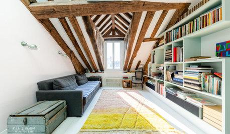 Avant/Après : Un duplex parisien de 100 m2 à l'esprit brocante