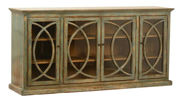 Deco Glass Door Sideboard