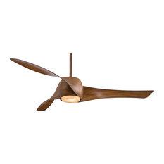 Minka Aire Artemis Ceiling Fan, Dark Koa, 147 cm