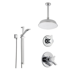 Delta Compel Collection Chrome Finish Custom Shower System SS176181