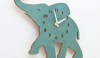 Kid's Clocks by LeLuni