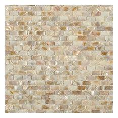 "Noburu 0.25""x0.75"" Mosaic Tile, Gray"
